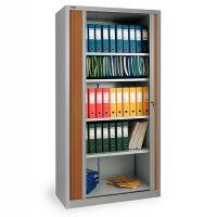 Шкаф архивный КД-144 (4 полки) с дверьми-жалюзи