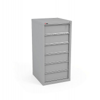 Шкаф картотечный КД-516 (без перегородок, 6 ящ.)