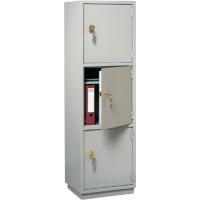 Металлический бухгалтерский шкаф КБС-033н