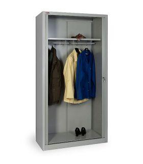 Шкаф гардеробный КД-144К с дверьми-жалюзи