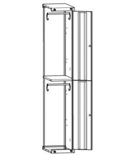 Шкаф ШМ-М-12(400) дополнительная секция