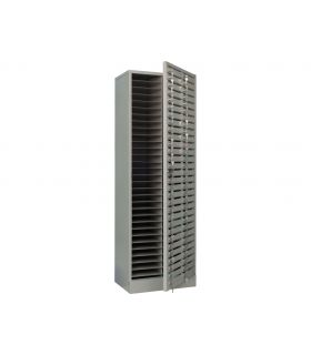 Шкаф абоненсикй AMB 180/60D (60 ячеек) с общей дверью