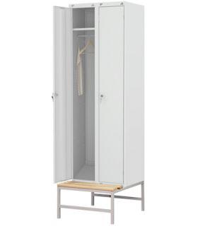 Шкаф ШР-22(600) на подставке со скамьей