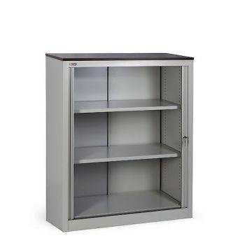 Шкаф офисный КД-142 (2 полки) со столешницей