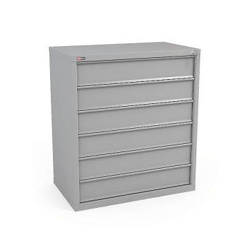 Шкаф картотечный КД-536 (без перегородок, 6 ящ.)